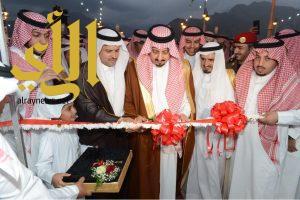 أمير عسير يدشن مشروعات تنموية في محافظة رجال ألمع