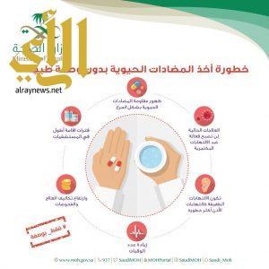 الصحة تبين خطورة أخذ المضادات الحيوية بدون وصفة طبية