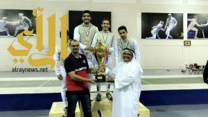 مدارس الرياض أبطال الترتيب العام في المبارزة
