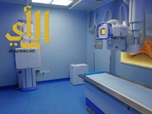 بدء العمل في قسم الأشعة الجديد في مستشفى سلوى العام
