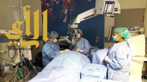 جراحات شبكية ناجحة لمرضى يعانون من نزيف في العين في نجران