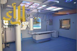 جهاز أشعة رقمي بمستشفى الرعاية المديدة بحفر الباطن