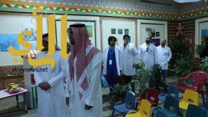 كلية الطب بجامعة الملك خالد تشارك الأطفال المعوقين أسبوع الشجرة