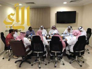 مجلس إدارة غرفة الخرج يعقد اجتماعه برئاسة آل كتاب