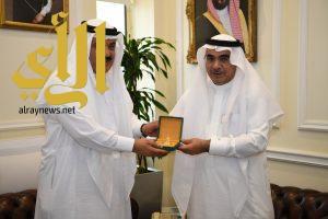 أمين الشرقية يستقبل الأمين العام لمركز الملك عبد العزيز للحوار الوطني