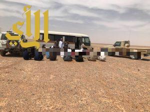 ضبط مجموعة من المخالفين لنظامي العمل والإقامة  بمحافظة طبرجل