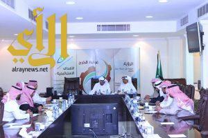 اللجنة العقارية بغرفة الخرج تقر اجتماع مع أصحاب المكاتب العقارية