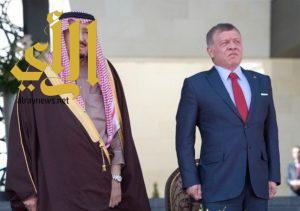 خادم الحرمين يبعث برقية شكر وتقدير لملك الأردن