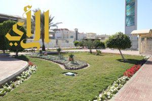 أكثر من 450 ألف زهرة تزرعها بلدية الخبر في الحدائق والمتنزهات العامة