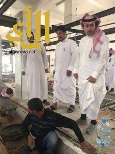 مسلخ بلدية حفر الباطن يستقبل 11026 رأس من الأغنام خلال شهر رمضان والعيد