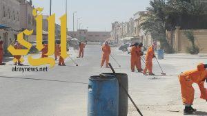 بلدية الجبيل تنفذ حملة نظافة على الأحياء السكنية والصناعية بالمحافظة