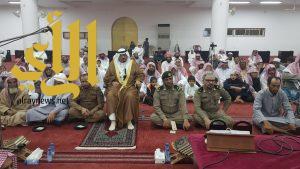 المتعب يرعى حفل إختتام فعاليات وأنشطة مكتب الدعوة بمحافظة طريب