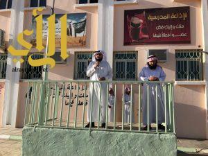 مدير مكتب التعليم بطريب يتفقد ثانوية الشيخ محمد بن عبدالوهاب