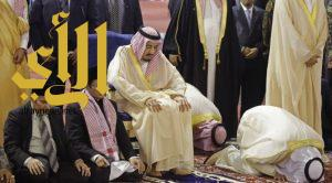 الملك سلمان يزور مسجد الاستقلال بجاكرتا