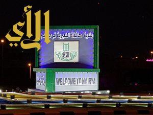 260 عمود إنارة تنير مداخل محافظة النعيرية