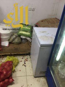 """بلدية صفوى تضبط (١٠٣) كلجم مواد غذائية فاسدة ضمن حملة """"غذاؤكم.. أمانة"""""""