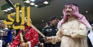 """الملك سلمان يشرف العرضة السعودية في """"الجنادرية"""".. غداً"""