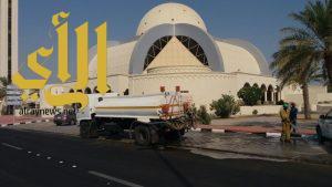 """""""رأس تنورة"""" تكثيف أعمال النظافة استعدادا لاستقبال عيد الأضحى المبارك"""