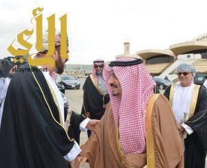 ممثل سُلطان عُمان يصل الرياض