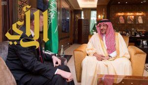 ولي العهد ومدير وكالة الأمن القومي الأمريكي يبحثان مكافحة الإرهاب