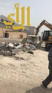 بلدية الخبر: إزالة تعديات في 12 موقع…وتطبيق العقوبات بحق المخالفين