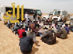 شرطة منطقة الجوف تواصل حملاتها بالمشاريع الزراعية بميقوع وبسيطا