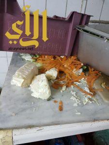 أمانة عسير : إغلاق مطاعم ومصادرة مواد غذائية خلال 24 ساعة