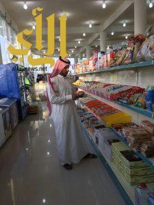 بلدية اللهابة تقوم بجولات تفتيشية على المحلات التجارية