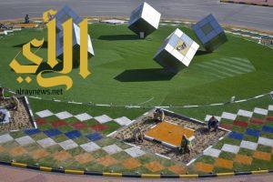 بلدية القليب تزين الشوارع والميادين بـ 40 ألف زهرة