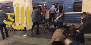 عشرة قتلى إثر انفجار في مترو سان بطرسبورغ