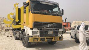 بلدية القطيف تضبط ٣٦ شاحنة مخالفة تنهل الرمال