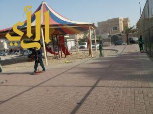 القطيف: البلدية تكمل جاهزيتها لاستقبال عيد الفطر المبارك