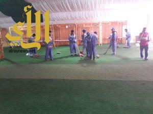 بلدية شرق الدمام: 120 رجل نظافة في مهرجان صيف الشرقية 38