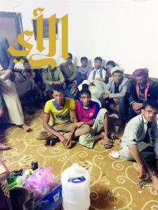 شرطة جدة تنجح في تحرير 30 رهينة احتجزتهم عصابة يمنية للمطالبة بفدية