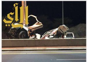 وفاة ثلاثة اشخاص بحادث مروري شنيع في الحرجة