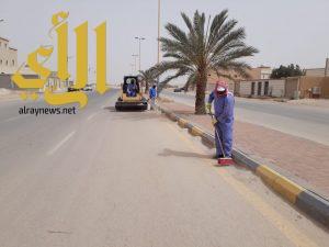 بلدية قرية العليا ترفع 230 م3 انقاض ومخلفات مجهولة المصدر خلال أسبوع