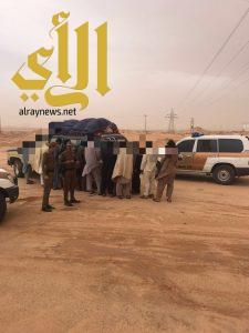 شرطة الجوف تواصل حملاتها بمدينة سكاكا وبمحافظة طبرجل
