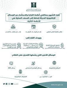 وزارة التجارة: إقرار عقوبة التشهير بالمخالفين عبر الوسائل الإلكترونية