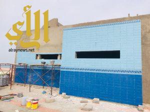 بلدية الخفجي تجري أعمال الصيانة والسفلتة في المحافظة
