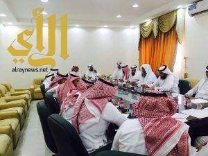 أجتماع بمحافظة طريب مع لجنة التنمية الأقتصادية والسياحة بمجلس المنطقة