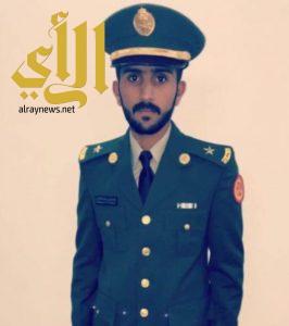 الملازم عبدالعزيز آل زاهب يتخرج من كلية الدفاع الجوي