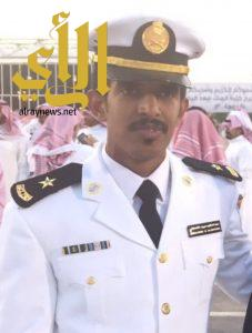 تخرج الملازم عبدالحكيم آل جمعان من الكلية البحرية