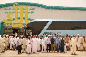 مكتب الدعوة بطريب يطلق رحلة العمرة الأولى لـ 50 معتمراً