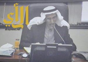 إقامة ندوة عن الآدب الأندلسي للدكتور الثقفان بجامعة الملك سعود