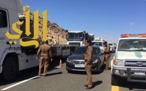 مرور محافظة طريب يقوم بحملة امنية وتفتيشية مكثفة