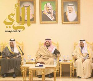 الأمير تركي بن طلال في ضيافة الهزاني بمحافظة تنومة