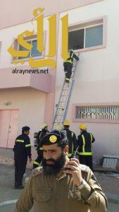 مدني طريب ينفذ فرضية لحادث حريق بمستشفى المضة العام
