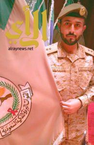 """""""آل جمعان"""" يحتفل بتخرجه من دورة تأهيل الضباط الجامعيين"""