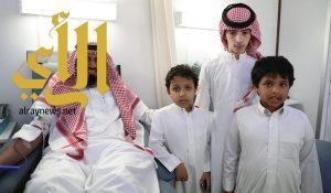 (مدارس أضواء الرياض ) تدشن برنامجها الإحتفالي بحملة تبرع بالدم