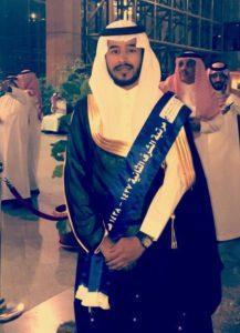 """بكالوريوس مع مرتبة الشرف الثانية لـ """"عبدالله آل سليم"""""""